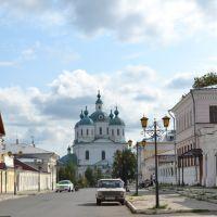Елабуга, Спасский собор и перспектива ул. Спасской, Елабуга