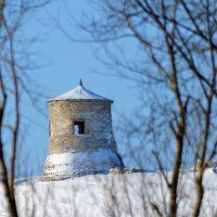 Вид с лугов на Чортово городище, Елабуга