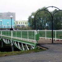 Вид на новый город с моста, Заинск
