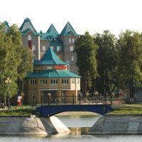 Вид на гостиницу Тернополь, Зеленодольск