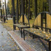 Лавки в парке Победы, Зеленодольск