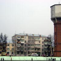 Зеленодольск. Водонапорная башня., Зеленодольск