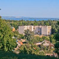 Вид на Волгу, Зеленодольск