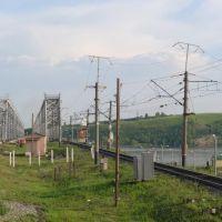 вид с поезда, Зеленодольск