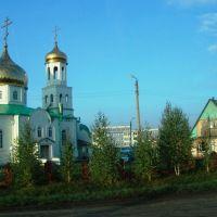 Нурлат, храм св. пророка Илии.  Нурлат, ул. 50 лет Победы, Куйбышев