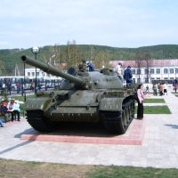 Танк в парке Победы, Кукмод