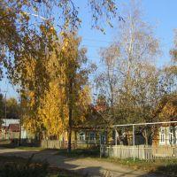 улица Первомайская в Лаишево (осень), Лаишево