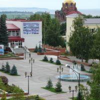 Площадь Державина / Derjavins Square, Лаишево