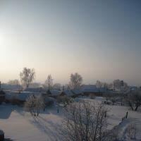 Морозный рассвет., Лаишево