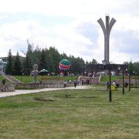 Монумент нефтяникам, Лениногорск
