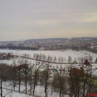 Лениногорск зимой, Лениногорск