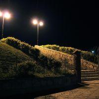 *** Ночные фонари и лестница ***, Лениногорск