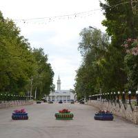 Мамадыш, перспектива ул. Советской, Мамадыш