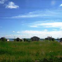Вид на улицу Солнечная, Менделеевск
