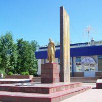 Памятник воинам, Менделеевск
