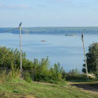 Вид на Каму с Тихих гор, Менделеевск