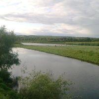 Муслюмово. Река Ик со старицей., Муслюмово