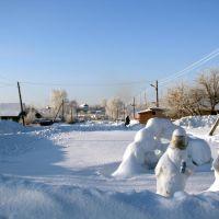 Снежная параSnow pair, Пестрецы
