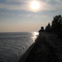 Закат на Рыбно-Слободской Ривьере, Рыбная Слобода