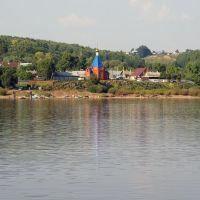 Вид на село Рыбная Слобода / View of Rybnaya Sloboda village (18/08/2007), Рыбная Слобода