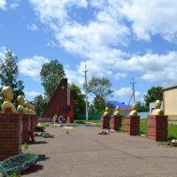 Рыбная Слобода, мемориал в честь Великой Отечественной войны, Рыбная Слобода