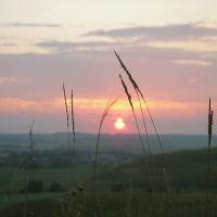 Закат близ Сарманово., Сарманово