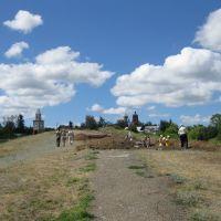 Студенты ведут археологические раскопки, Тетюши