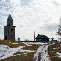Сторожевая башня весной., Тетюши