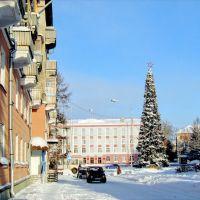 Новогодняя пл. им. Ленина, Северск