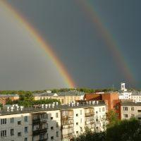Радуга над д/к Н.Островского, Северск