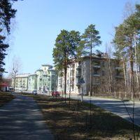 Вид на перекрёсток ул. Ленина и ул. Свердлова, Северск