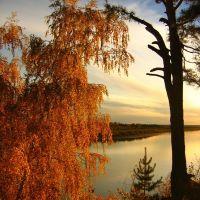 Осень на Томи, Северск