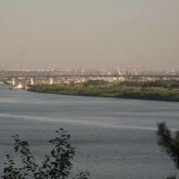 Вид на Томск из Северска, Северск