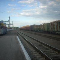 Станция Асино, Вид на север, Асино