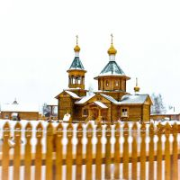 Church in White Jar of the Tomsk region, Белый Яр