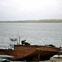 пристань сентябрь 2010, Каргасок