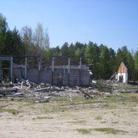 Остатки школьного спортзала, Катайга