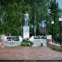 памятник погибшим в ВОВ, Кривошеино