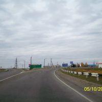 перед постом ДПС, Мельниково