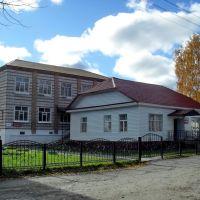 Бывшие контора и магазин Молчановского ДРСУ., Молчаново