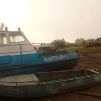 Martinich boat in Parabel, Парабель
