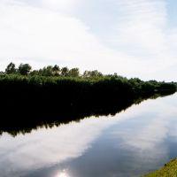 Река Чая, Подгорное