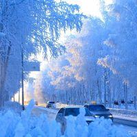 Fabulous winter, Стрежевой