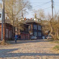 улица,брусчатка, Томск