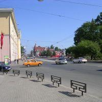 Russia, Tomsk, Lenina Str, TUSUR, Томск