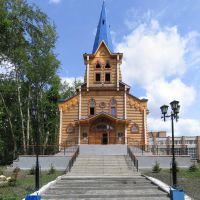 Лютеранская кирха, г. Томск, июль 2006, Томск