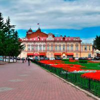 Томск. Новособорная площадь, Томск