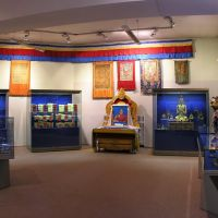 Buddhism exhibition of the National museum of Tuva Republic named Aldan Maadyr, Кызыл