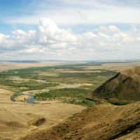 Долина реки Тес-Хем, Самагалтай