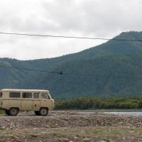 UAZ-2206 - the best Russian off-road van, Самагалтай